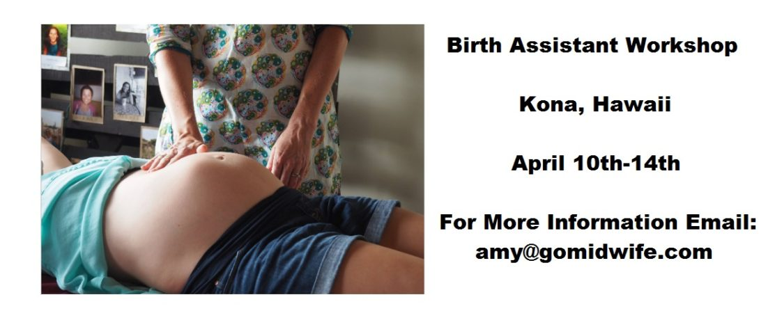 Birth Assistant Workshop
